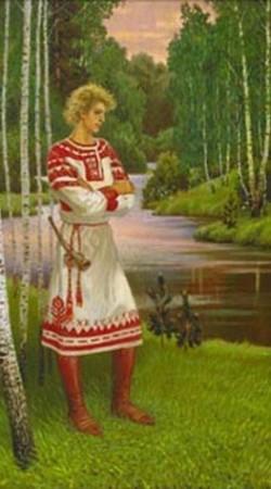 Традиционная славянская одежда.