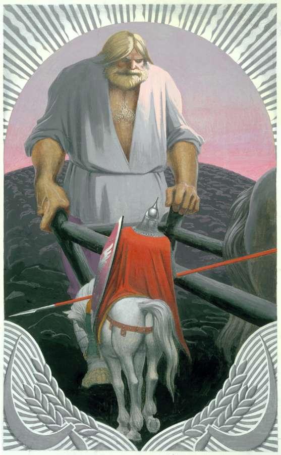 Иллюстрация к сказке перышко финиста ясного сокола